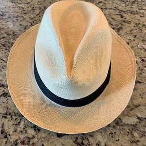 J. Crew genuine Panama hat